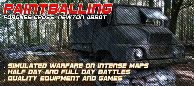 Paintball in Newton Abbot