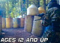 Adult and Junior Paintballing